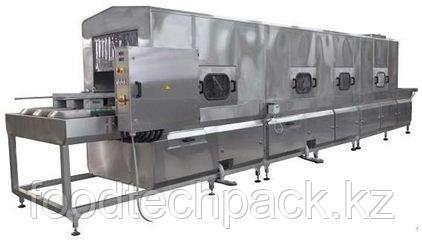 Машина для мойки разборных бигбоксов с обдувом 200 поддонов/час