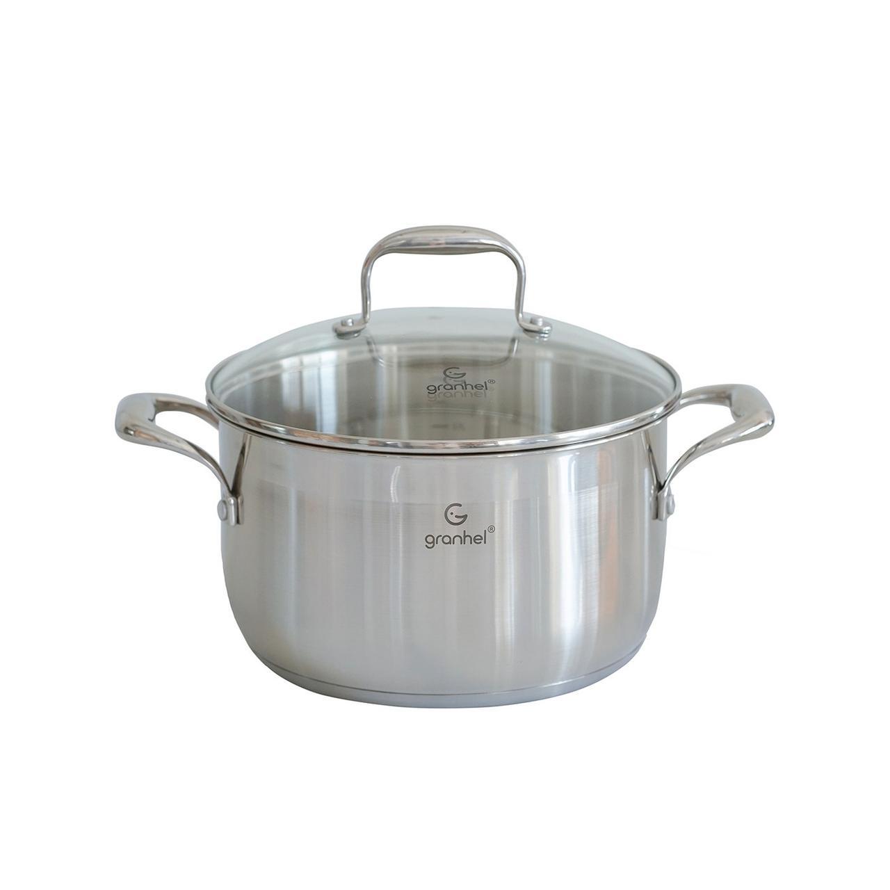 Кастрюля granhel Stainless steel 18/10 24х13,5 см 6,0 л