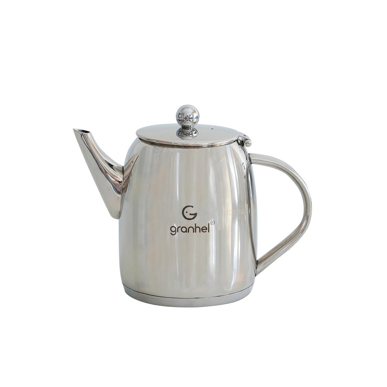 Чайник заварочный granhel Stainless steel 18/10 TS1.0 1,0 л