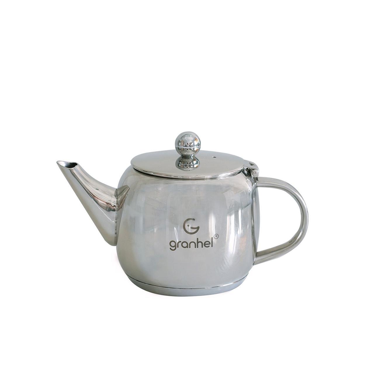 Чайник заварочный granhel Stainless steel 18/10 TS0.6 0,6л