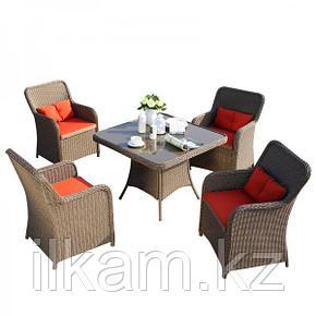 Комплект мебели из ротанга обеденный, фото 2