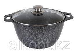 Кастрюля-жаровня 3,5п (темный мрамор) кмт37а