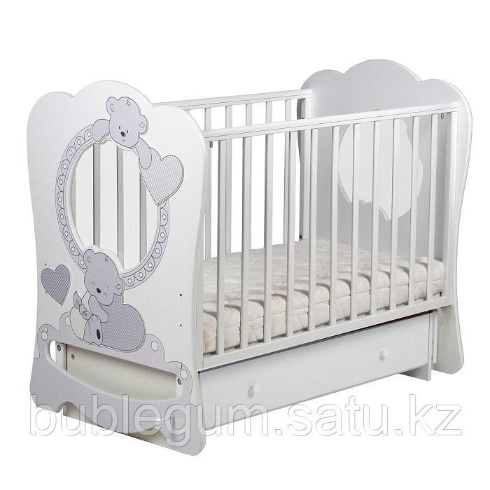 ЛЕЛЬ Кровать Baby sleep-7 Ваниль ПР 007