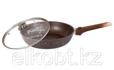 Сковорода 240/60мм со съемной ручкой.стек. крышка