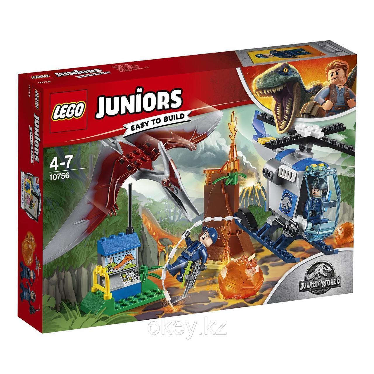 LEGO Juniors: Jurassic World — Побег птеранодона 10756