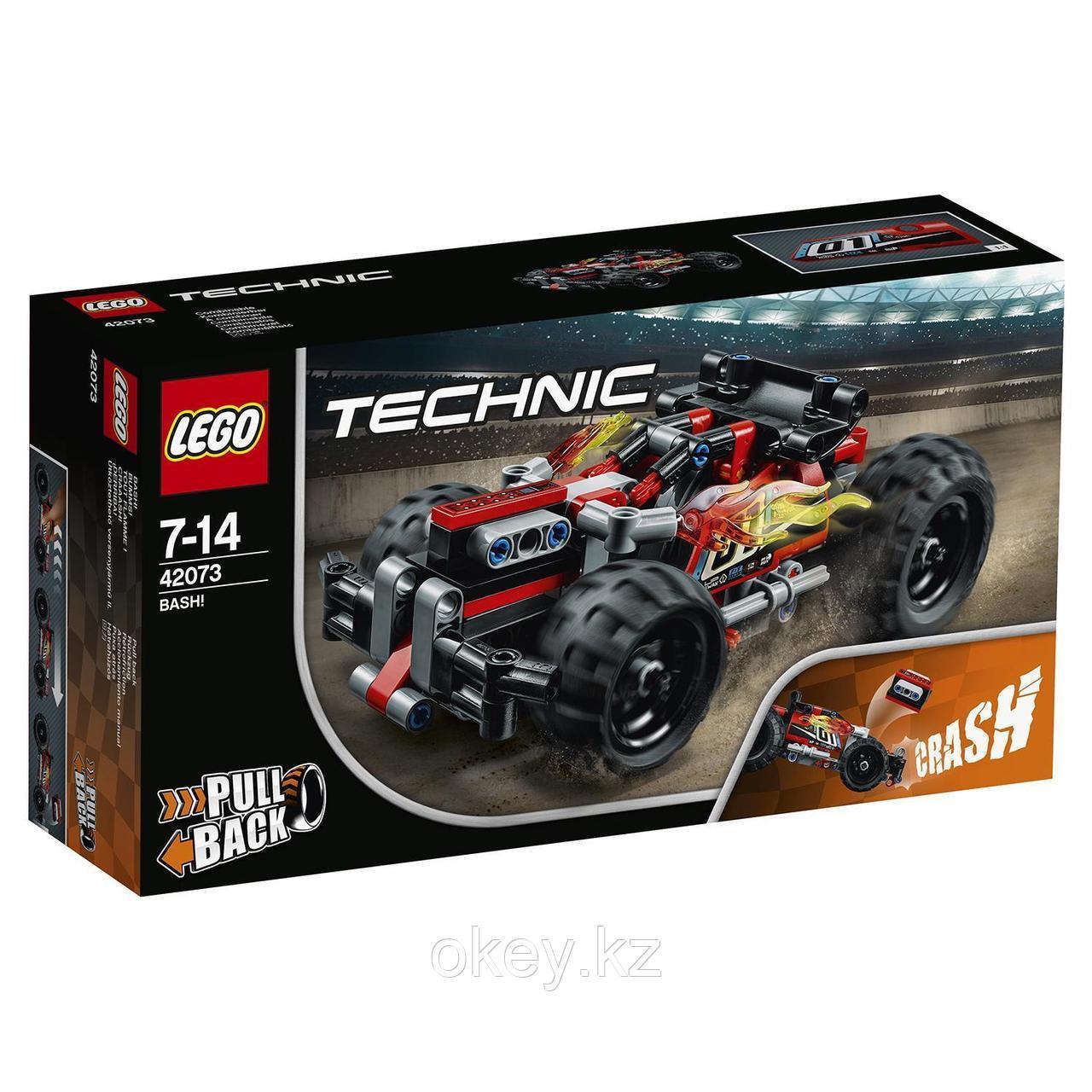 LEGO Technic: Красный гоночный автомобиль 42073