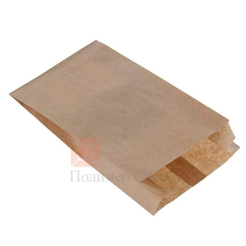 Пакет бумажный 110х50х610 крафт бурый 40гр, 1000 шт