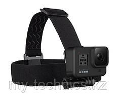 GoPro HERO 8 Black  + крепление на голову GoPro Head Strap + QuickClip+ аккумулятор Gopro Hero 8/7/6