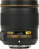 Объектив Nikon 28mm f/1.8G AF-S Nikkor, фото 1
