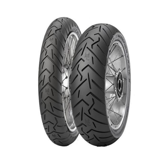 Мотошина Pirelli Scorpion Trail II 130/80 R17 65V TL Эндуро Rear
