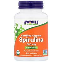 БАД Сертифицированная органическая спирулина 500 мг (200 таблеток)