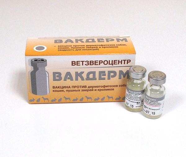 Вакцина Вакдерм , доза