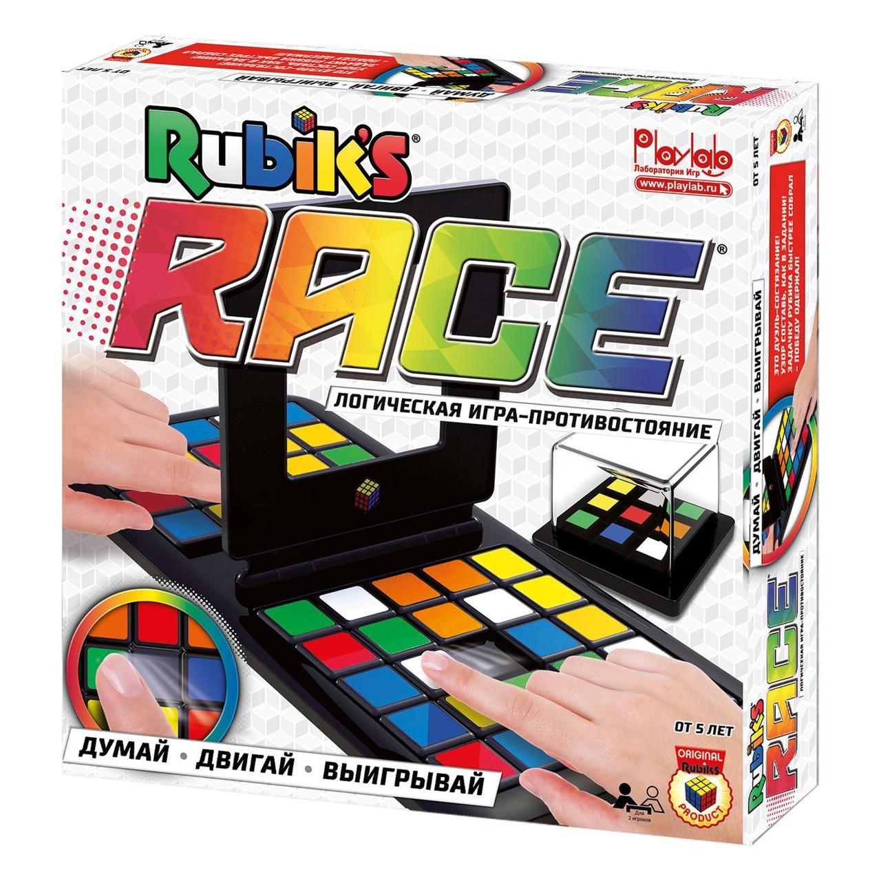 Настольная логическая игра Rubik`s Race