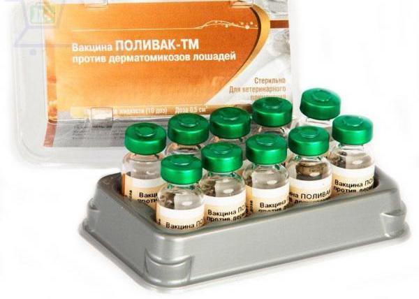 Поливак - ТМ против дерматомикозов лошадей