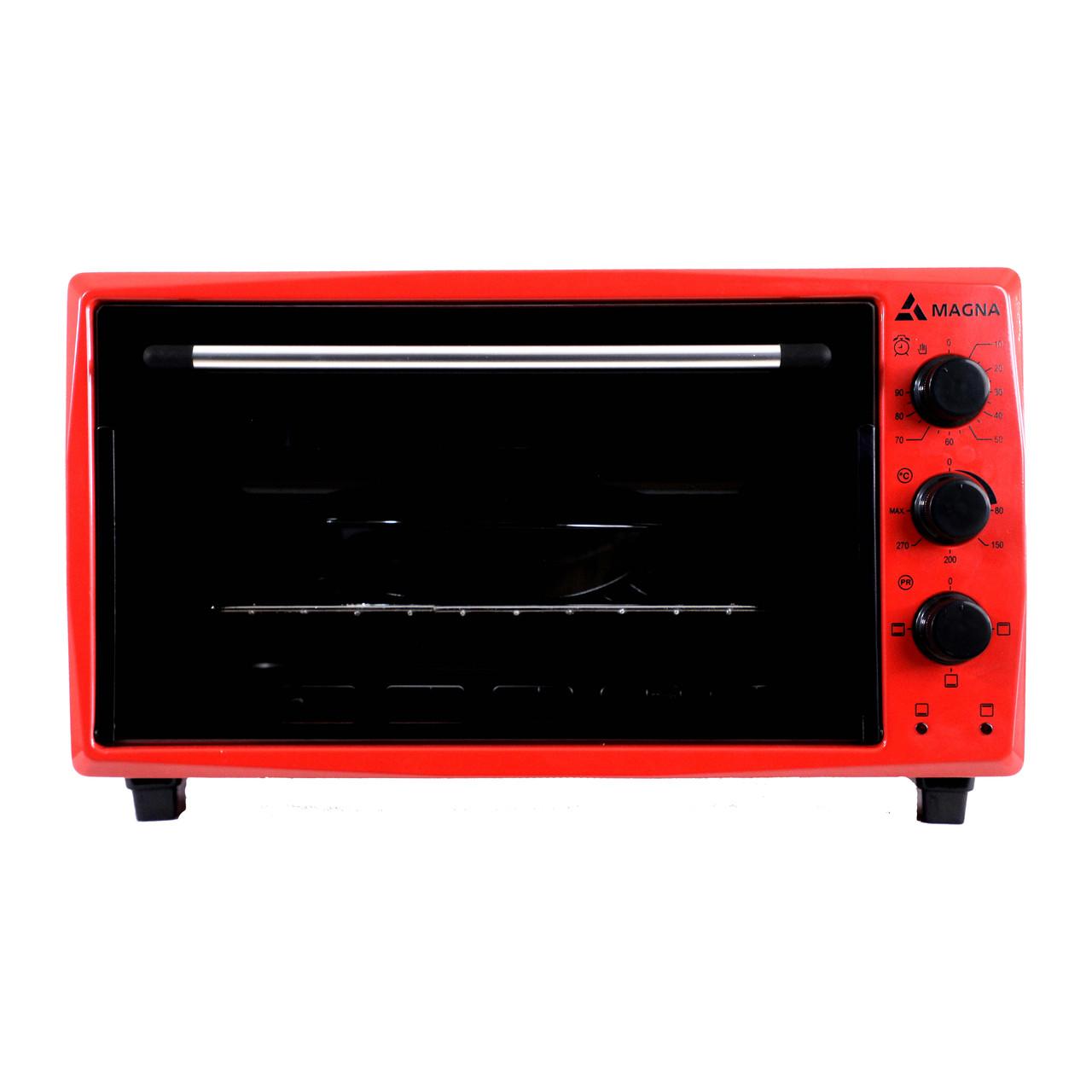 Мини печь Magna MF3615-14RD красный