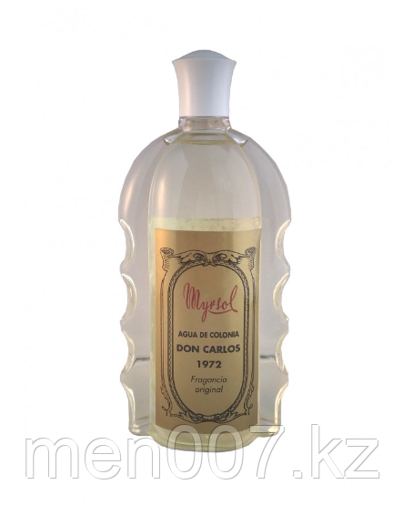 Myrsol DON CARLOS в стеклянной бутылке (Лосьон-одеколон после бритья)