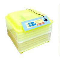 Инкубатор с терморегулятором, гигрометром и автопереворотом, на 112 яиц  овоскоп