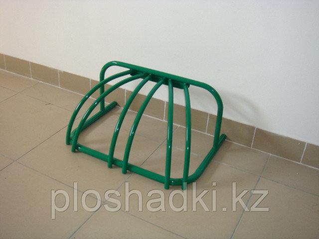 Велопарковка компактная зеленая