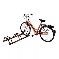 Велопарковка металлическая низкая