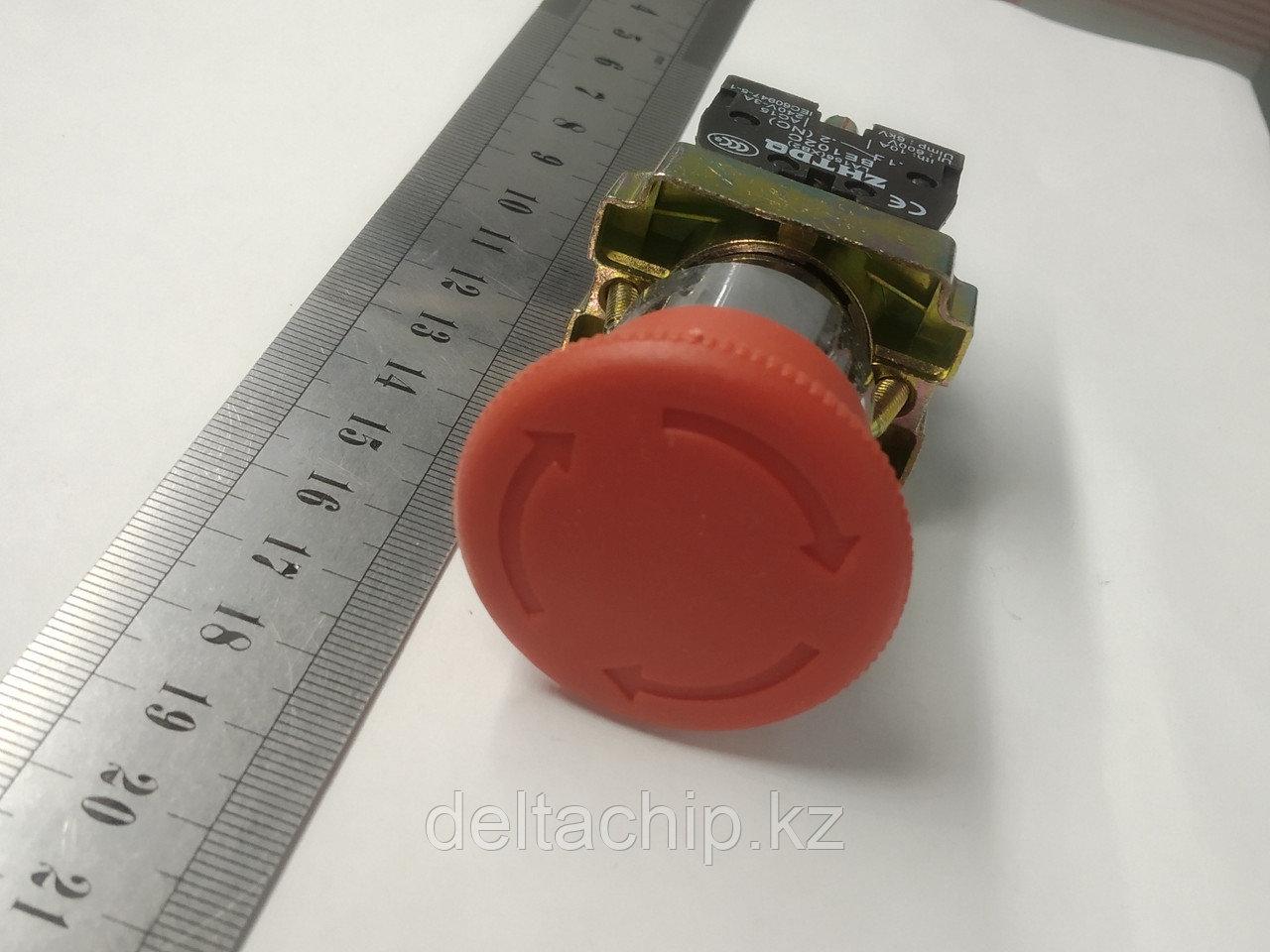 Кнопка промышленная С\Ф (грибок) 1NC