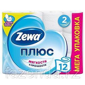 Бумага туалетная ZEWA, 12 рулонов