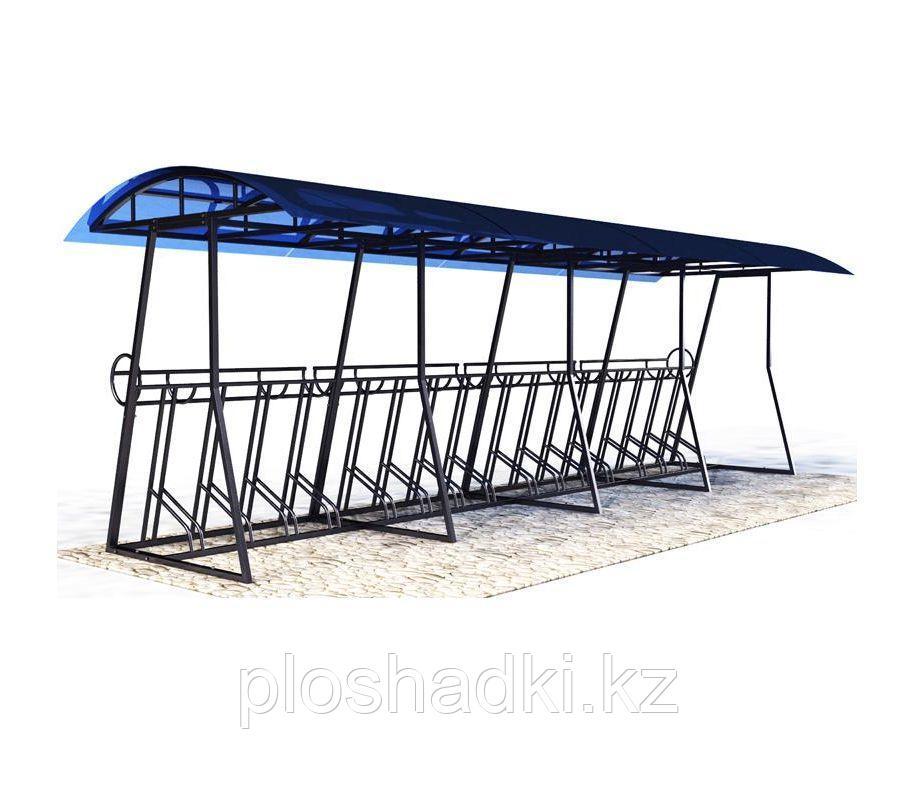Велопарковка крытая на 11 мест
