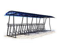 Велопарковка крытая на 11 мест, фото 1
