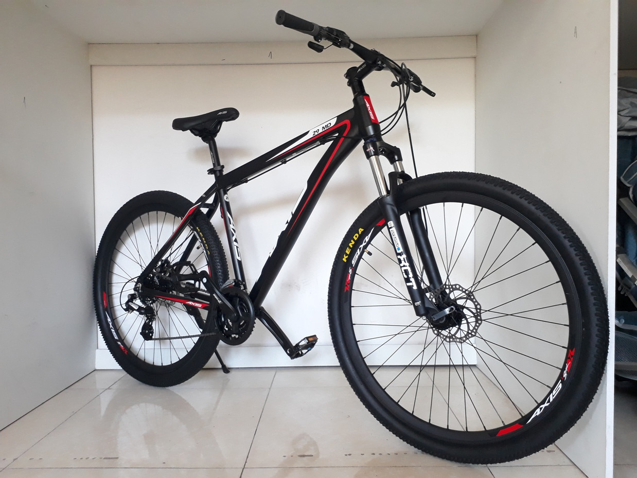 "Велосипед Axis 29"" MD. 20 рама. Найнер/ Kaspi RED. Рассрочка"