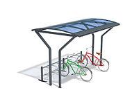 Велопарковка с навесом