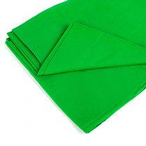 Студийный тканевый зеленый фон 6 м × 2,3 м, фото 2