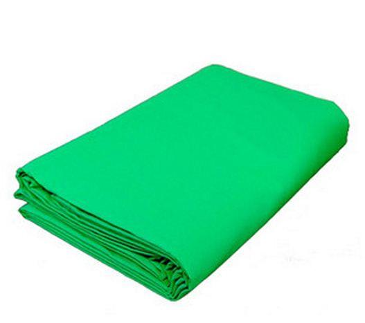 Студийный тканевый зеленый фон - хромакей 5 м × 2,3 м