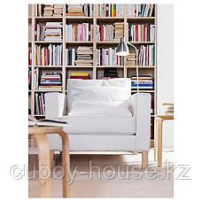 ЛЕРСТА Светильник напольн/для чтения, алюминий, фото 2