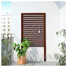 ЭПЛАРО Настенная панель, коричневая морилка, 80x158 см, фото 3