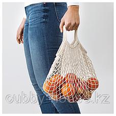 КУНГСФОРС Сетчатая сумка, 2 шт., неокрашенный, фото 3