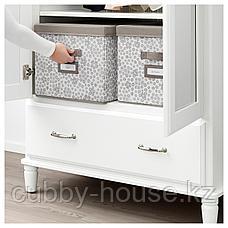 СТОРСТАББЕ Коробка с крышкой, бежевый, 35x50x30 см, фото 2