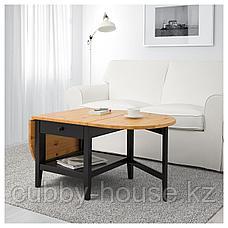 АРКЕЛЬСТОРП Журнальный стол, черный, 65x140x52 см, фото 2