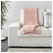 ИГАБРИТТА Плед, бледно-розовый, 130x170 см, фото 2