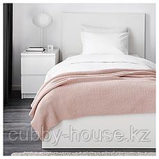 ИГАБРИТТА Плед, бледно-розовый, 130x170 см, фото 3