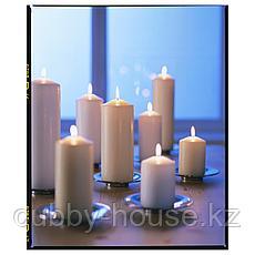 ФЕНОМЕН Неароматич свеча формовая, естественный, 25 см, фото 3