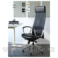 МАРКУС Рабочий стул, Глосе черный, фото 2