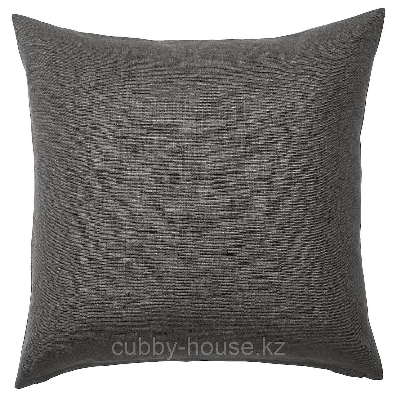 ВИГДИС Чехол на подушку, темный золотисто-коричневый, 50x50 см