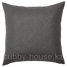 ВИГДИС Чехол на подушку, темный золотисто-коричневый, 50x50 см, фото 2