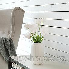 СТИЛРЕН Ваза, белый, 22 см, фото 3