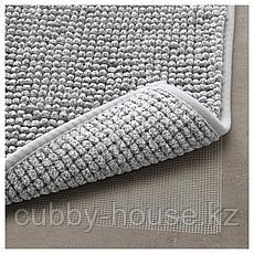 ТОФТБУ Коврик для ванной, серо-белый меланж, 50x80 см, фото 2