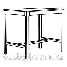 ЭКЕДАЛЕН Барный стол, темно-коричневый, 120x80х105 см, фото 2