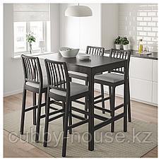 ЭКЕДАЛЕН Барный стол, темно-коричневый, 120x80х105 см, фото 3