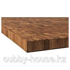 СКОГСО Столешница, дуб, шпон, 246x3.8 см, фото 3