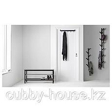 ЧУСИГ Вешалка, черный, 78 см, фото 2