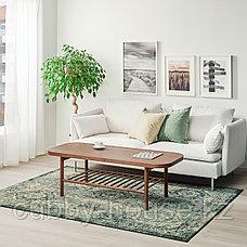 ВОНСБЭК Ковер, короткий ворс, зеленый, 170x230 см, фото 2