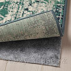 ВОНСБЭК Ковер, короткий ворс, зеленый, 170x230 см, фото 3